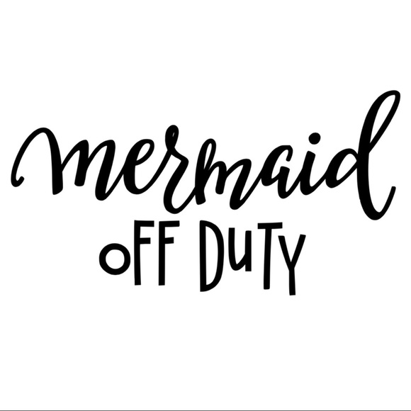 Mermaid Iron On Vinyl Transfer Decal Patch Boutique